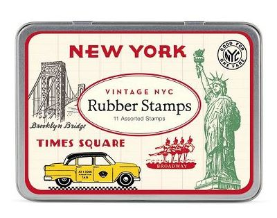 NYC Stamp Set Rubber
