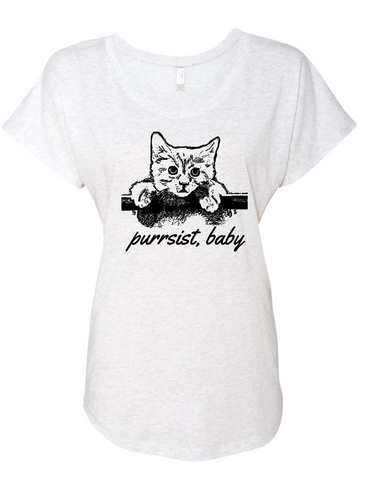 Purrsist Adult Tee