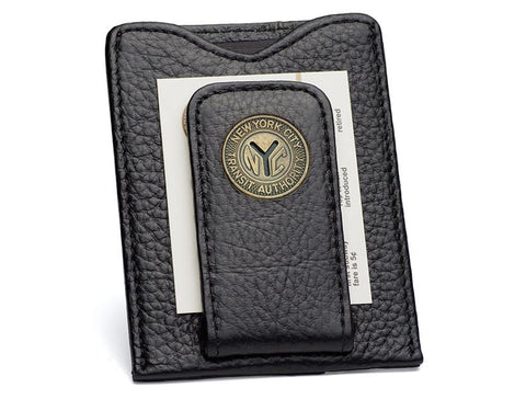 New York Transit Token Money Clip Wallet