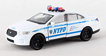 NYPD pullback police car