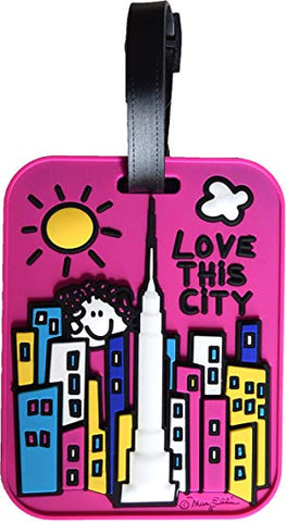 Luggage Tag: Love this City