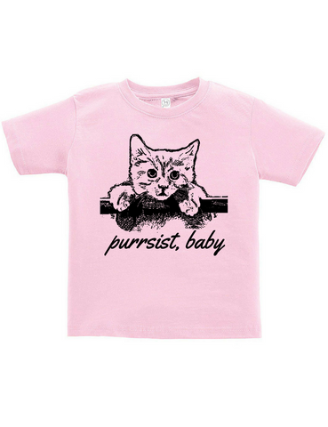 Purrsist Youth Tee