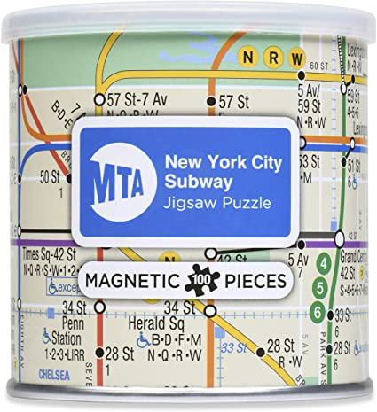 Geotoys Subway Magnetic Puzzle