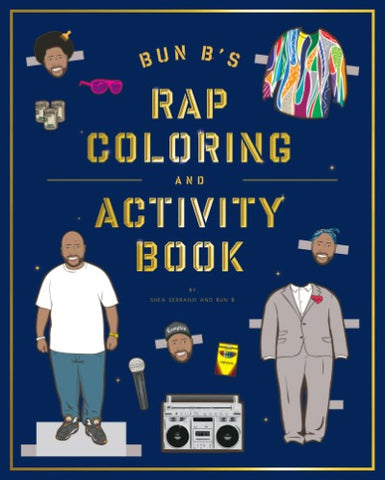 Bun B's Rapper Coloring Book