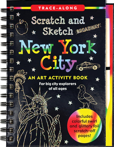 New York City Scratch & Sketch