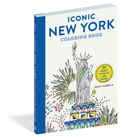 Coloring Book Iconic NY