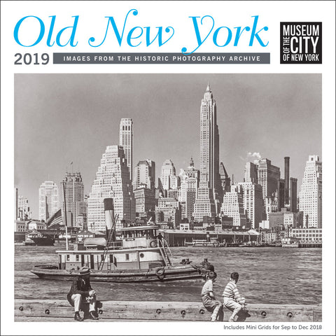Old New York 2019 Calendar