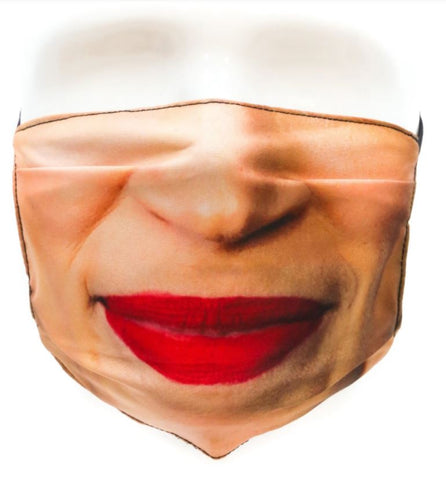 Face Mask: Talking Heads AOC