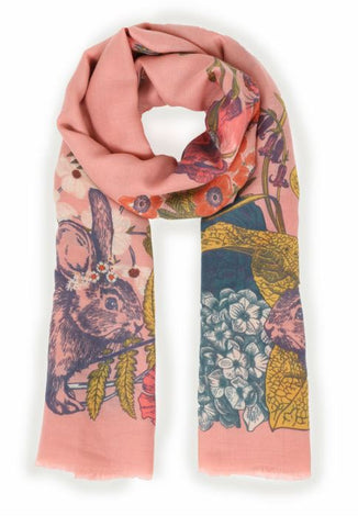 Countryside Animal Print Scarf