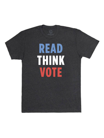 T Shirt: Read, Think, Vote