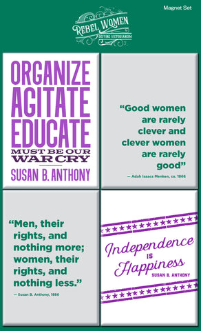 Rebel Women Magnet Set