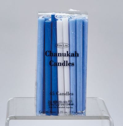 Candles: Channukah Blue