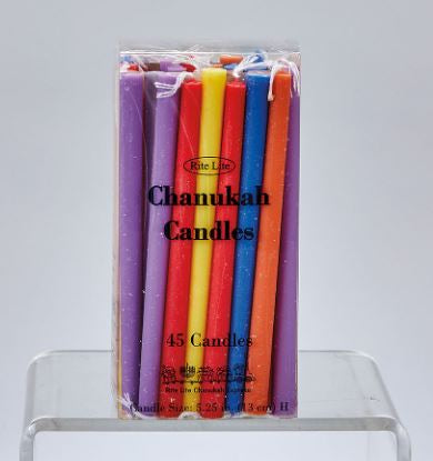 Candles: Channukah Multicolor