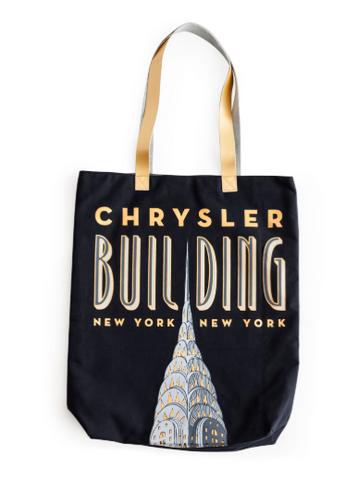 Jazz Age Chrysler Building Tote