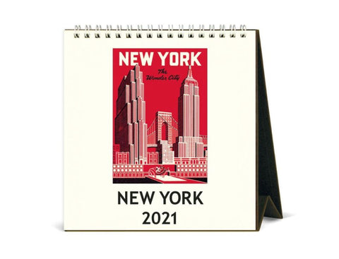 New York 2021 Desk Calendar