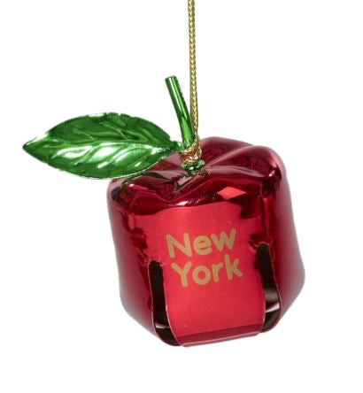 Red Metal Bell Ornament