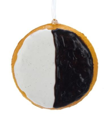 Foam Black & White Cookie Ornament