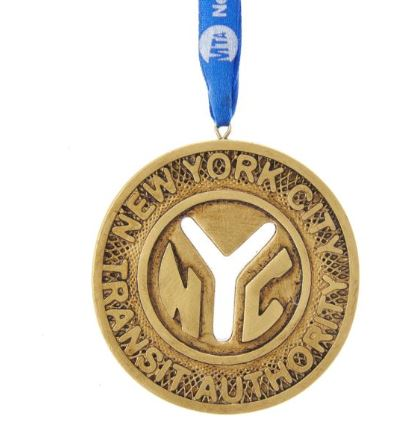 MTA Token Ornament