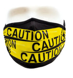 Face Mask: Caution Tape