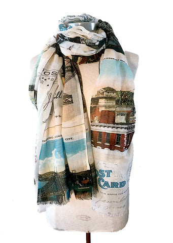 NYC Bridges Scarf