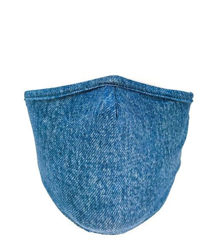 Face Mask: Blue Jean (Adult)