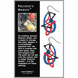 Pollock's Ghosts Earrings