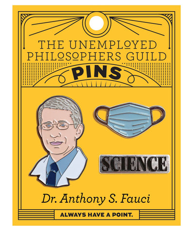 Pin: Dr. Anthony Fauci's Pin Set