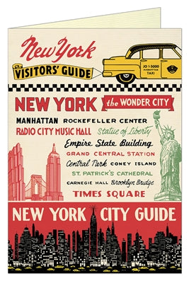 Notecard: NYC Guide (Blank)