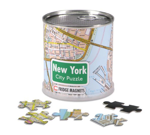 Geotoys Magnetic Puzzle New York