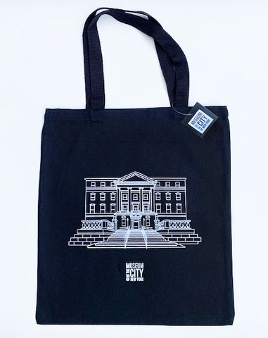 Building Illustration Tote