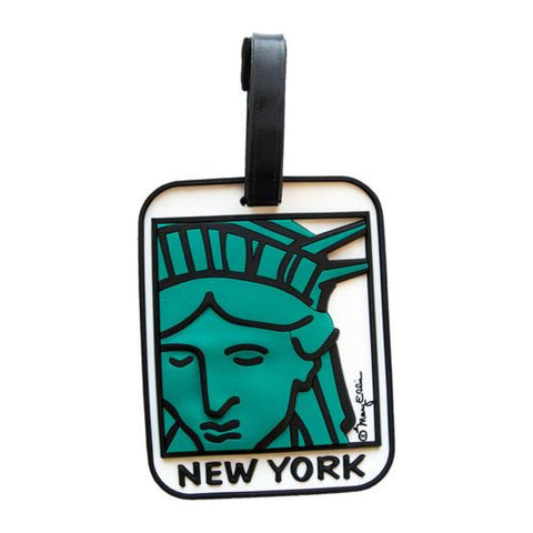 Luggage Tag: Liberty Face