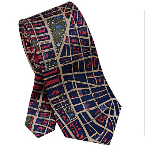 Tie: NYC Red/Blue