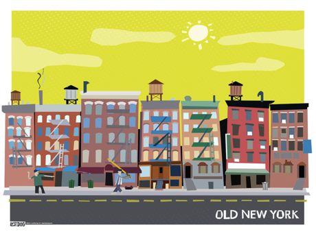 Old New York 11X17