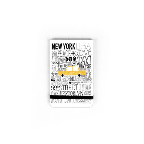 Pocket Journal NYC Taxi