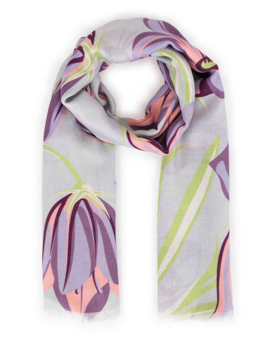 Bluebell Print Scarf