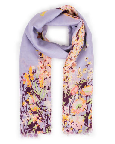 Spring Hare Print Scarf