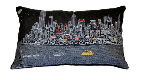 New York Night Prince Pillow