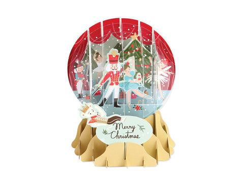 Nutcracker Globe Card