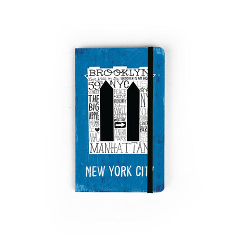 Mini Brooklyn Bridge Notebook