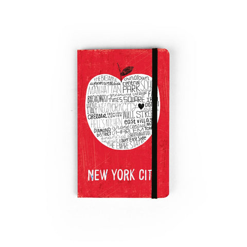 Mini Red Apple Notebook