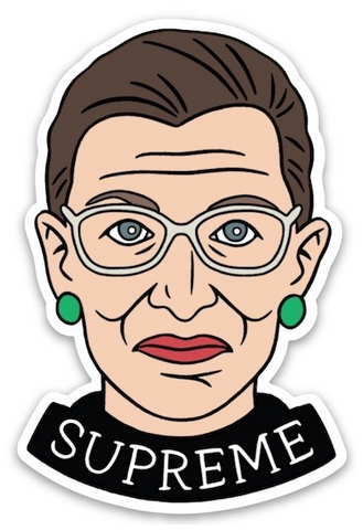 Sticker: RBG Supreme
