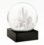 NYC White Snow Globe