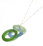 Seaglass Chandelier Necklace