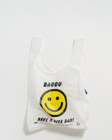 Standard Baggu - Thank You Happy Face