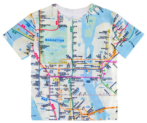 Toddlers Map Tee