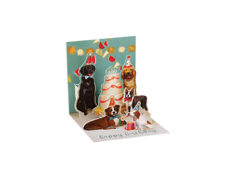 Birthday Dogs Trinket Card