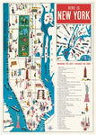 Poster/Wrap: Here is NY Map