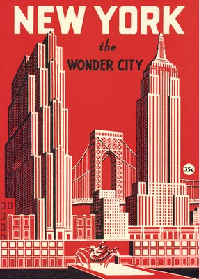 Poster/Wrap: Wonder City