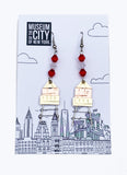 Water Tower Earrings