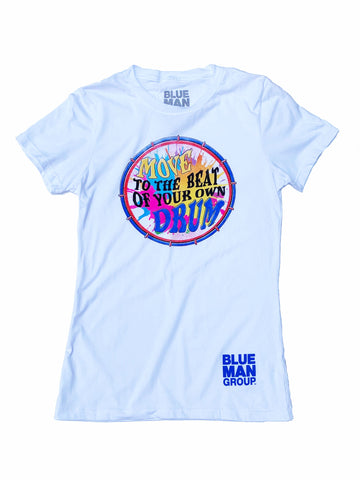 Blue Man Group Drum Tee